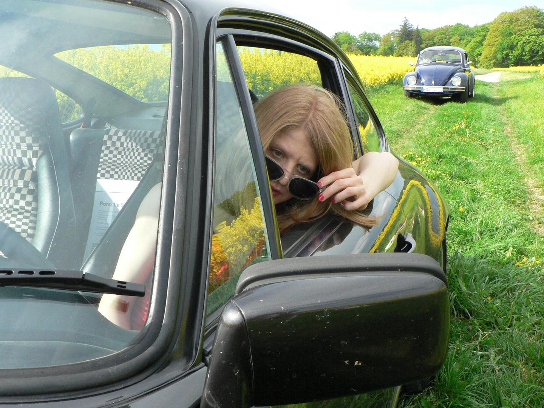 Objekts in the rearviewmirror
