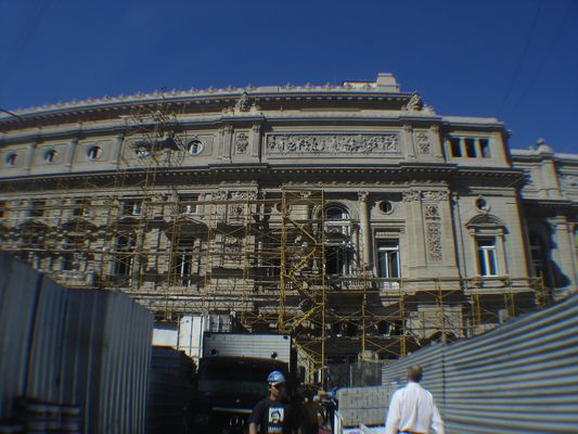 obra teatro Colón Argentina