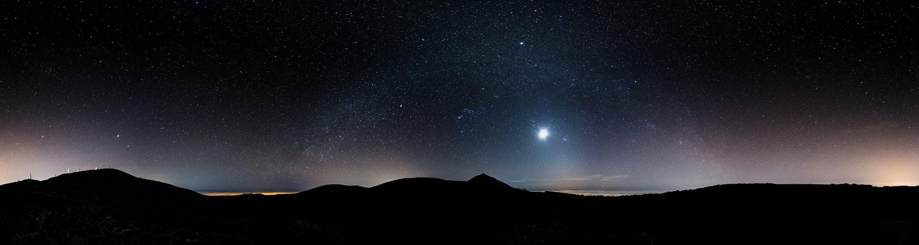 Observatorio del Teide Panorama