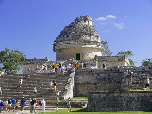 Observatorium (El Caracol) in Chichén Itzá