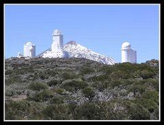 Observatorium mit Teide