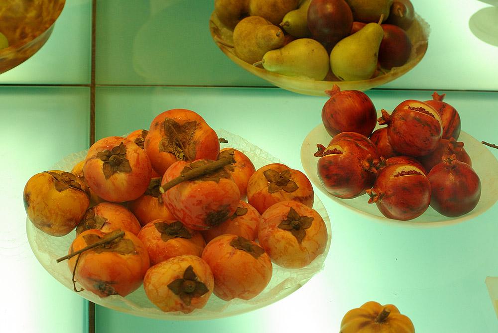 Obst auf Alabaster
