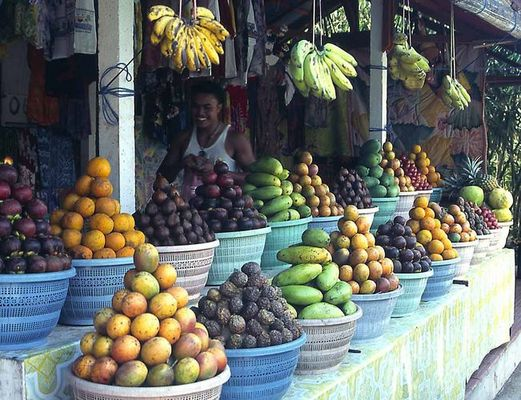 Obst in Indonesien
