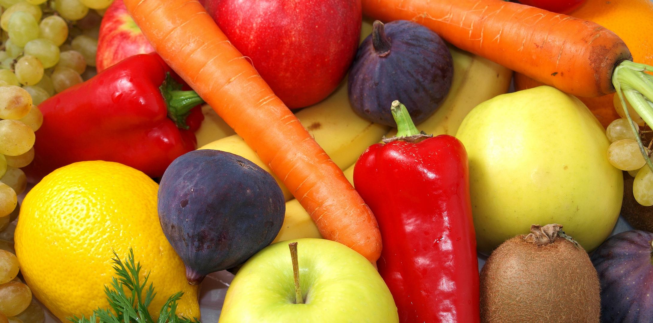 Obst und Gemüse für Naddel