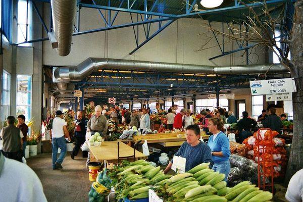 Obst und Gemüsemarkt in Quebec City