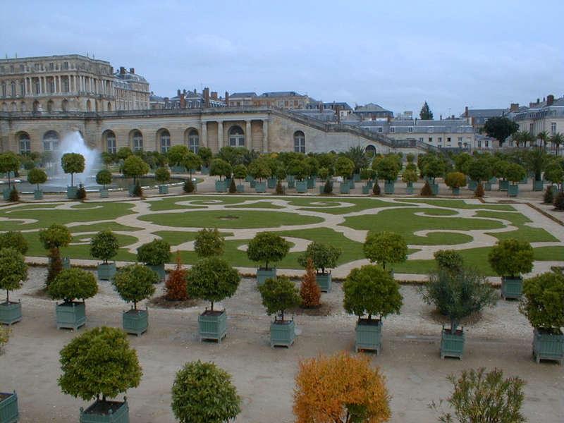 Obstgarten in Versailles