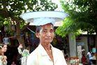 Obstverkäuferin. Mit 65 ist noch lange nicht Schluss