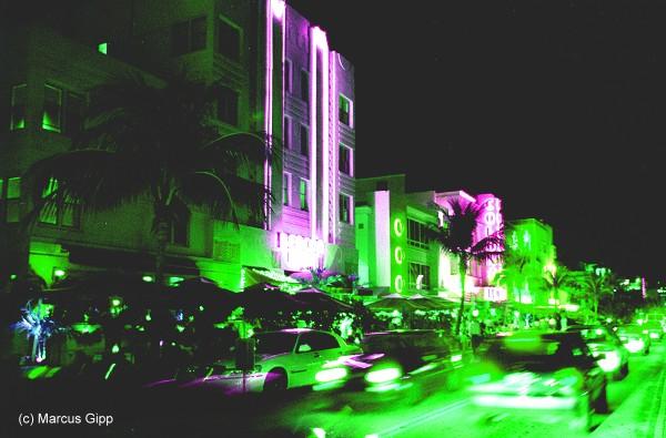 Ocean Drive Miami Art Deco District
