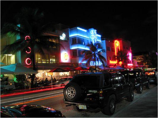 Ocean Drive - Miami South Beach - Florida/USA