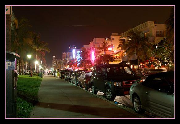 Ocean Drive @ night