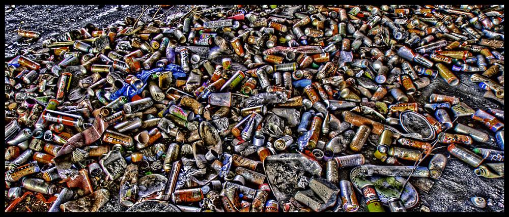 ocean of cans