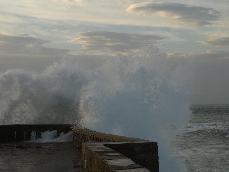 Océan Sur La Pierre