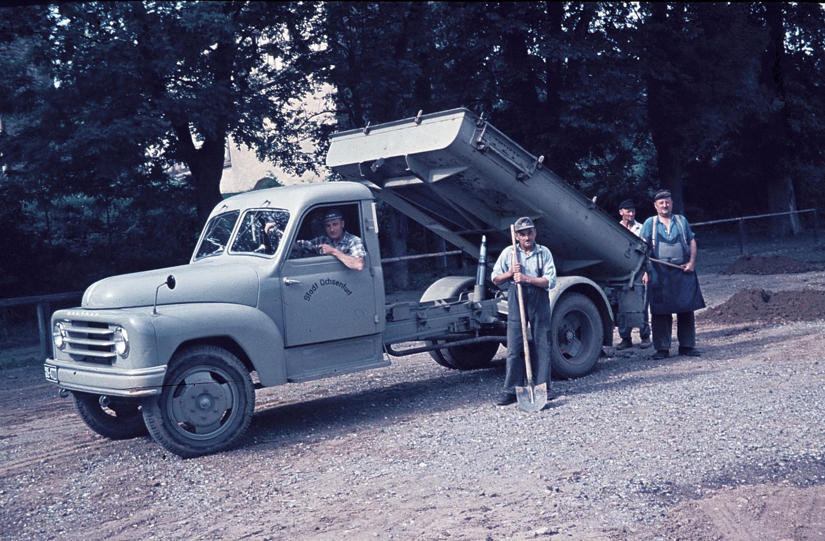 Ochsenfurt - Bauhof - 50er Jahre