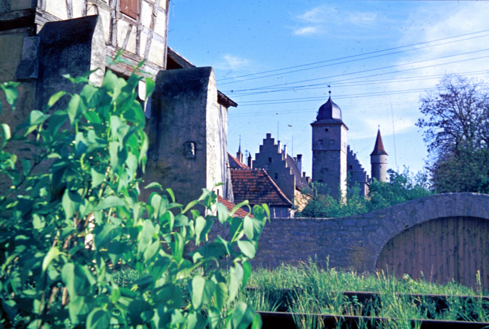 Ochsenfurt - westlicher Stadtgraben