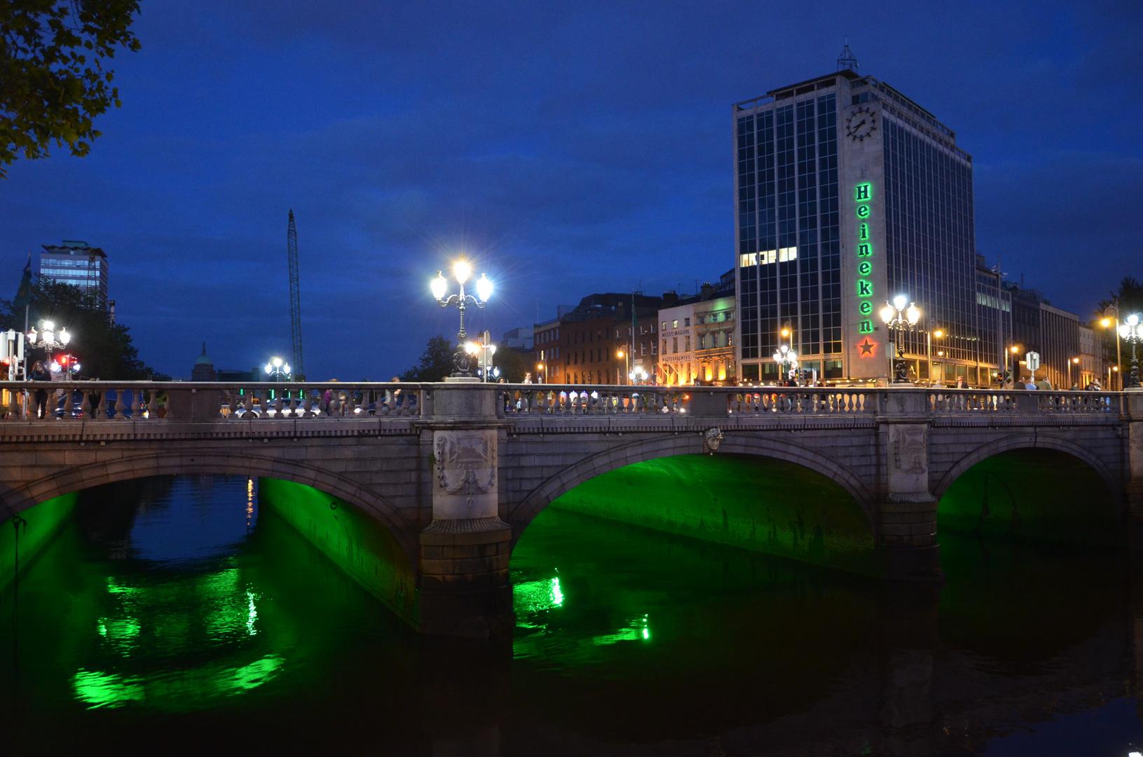 O'Connell Bridge by Night - Dublin - Ireland