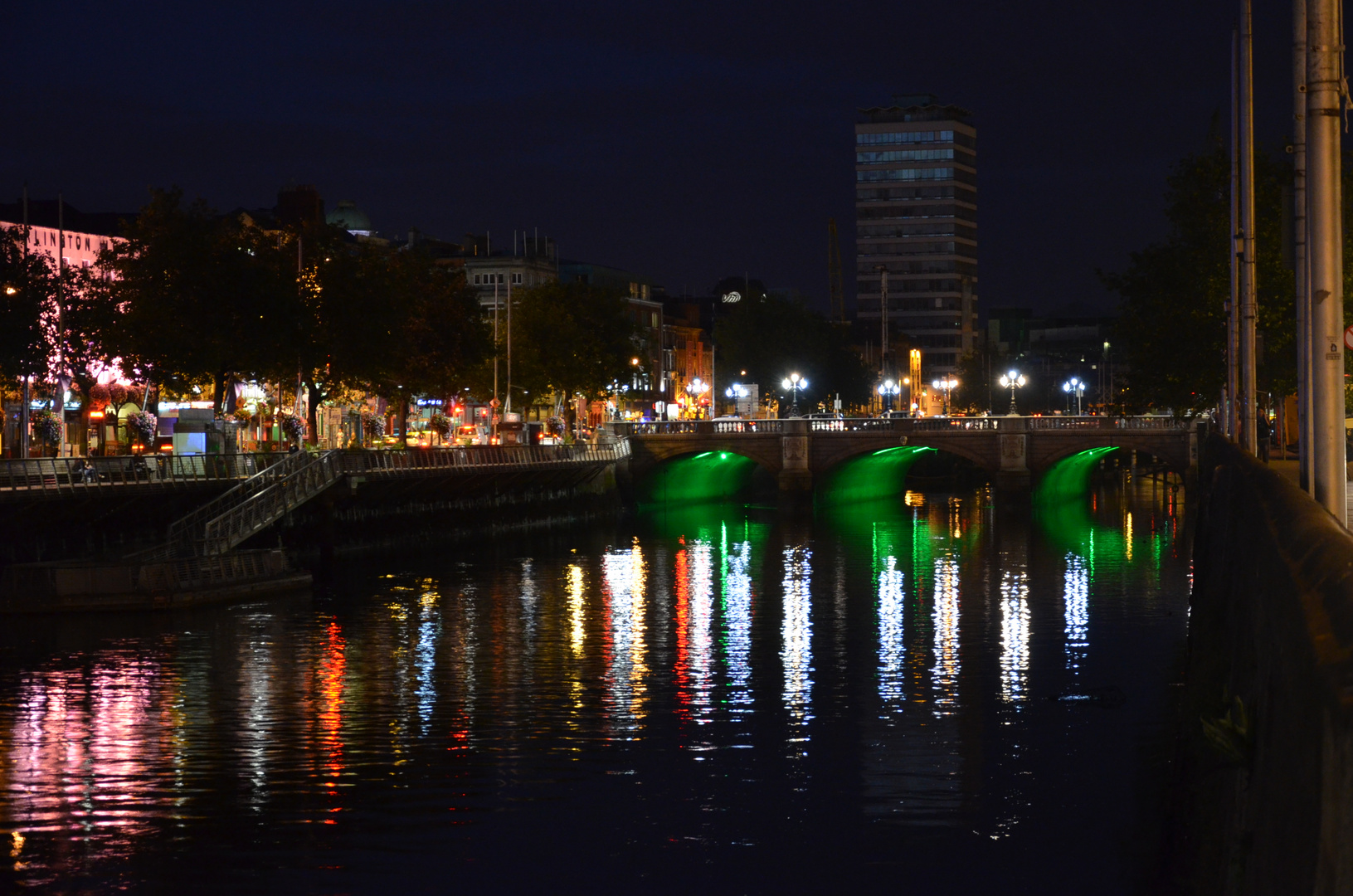 O'Connell Bridge by Night - Dublin - Ireland