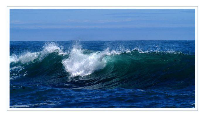 --> Ode an's Meer - in Blau
