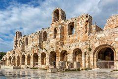 Odeon des Herodes Atticus in Athen