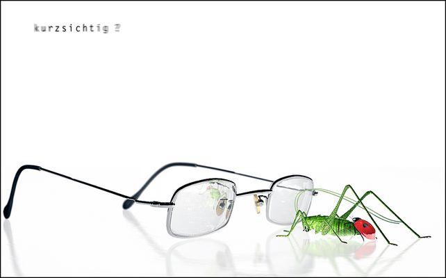 oder: die brille hat ihn scharf gemacht