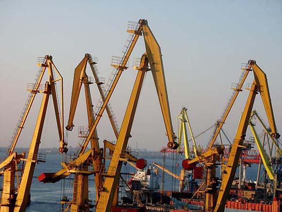 Odessan Portal Cranes