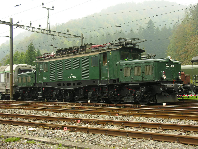 """ÖBB 1020 042 6 - Ein """"starkes"""" Stück aus Österreich"""