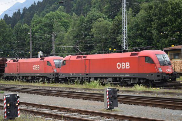 ÖBB Loks in Kufstein