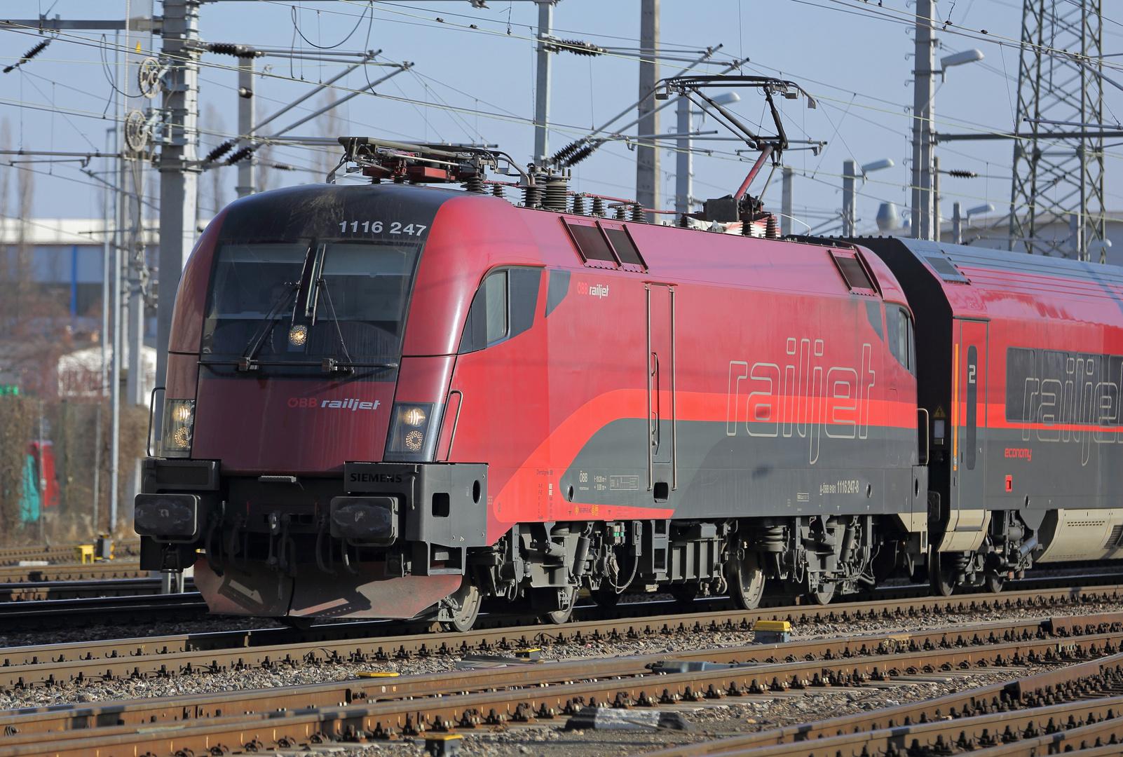 ÖBB - railjet 1116 247