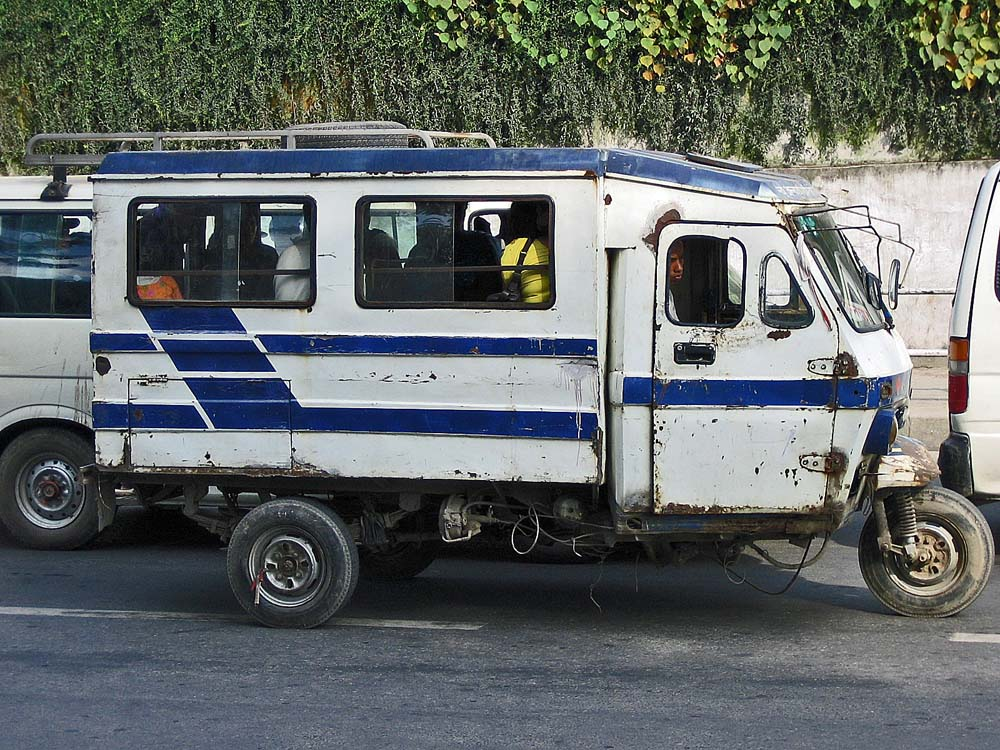 Öffentliche Verkehrsmittel in Kathmandu