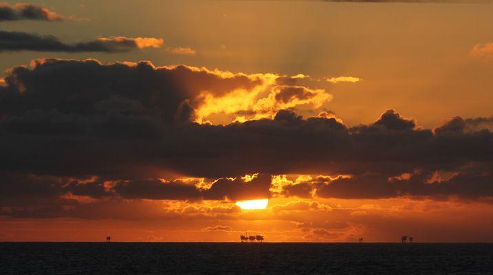 Oelförderung in der Nordsee