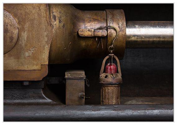 Ölpumpe in der alten Maschinenhalle Herten-Scherlebeck