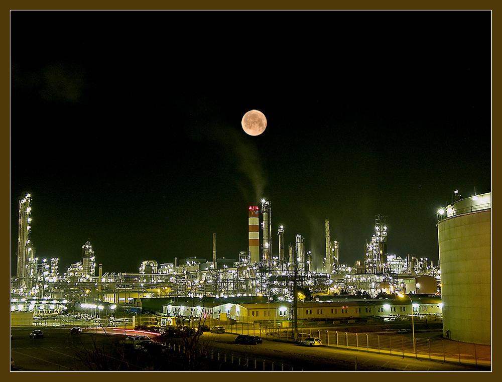 ÖMV Raffinerie