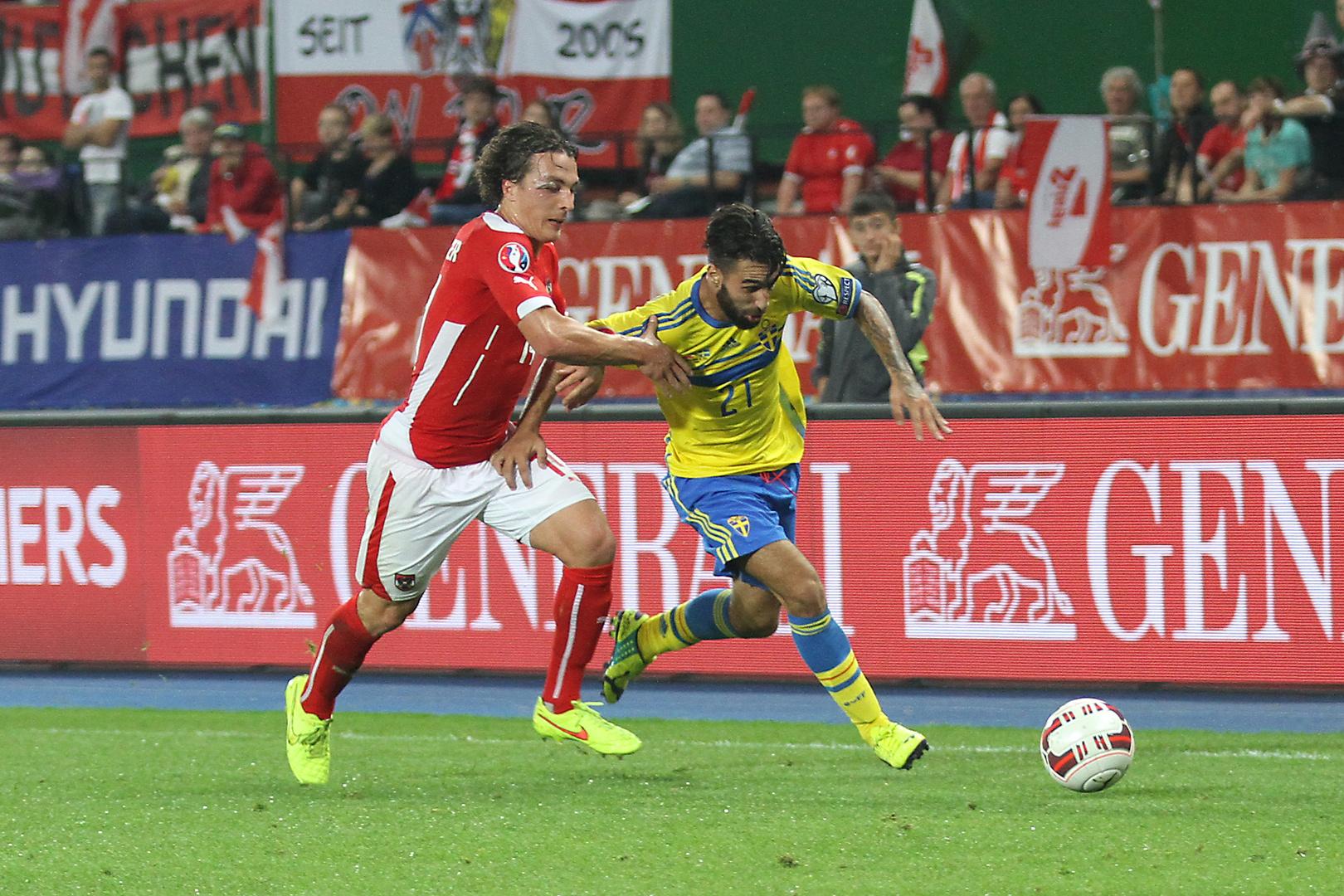 Österreich - Schweden EM Qualifikation 08.09.2014