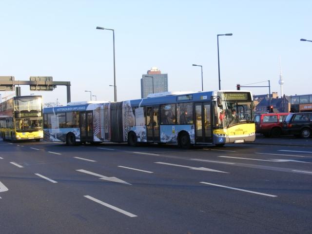 Österreicher Bus bei der BVG