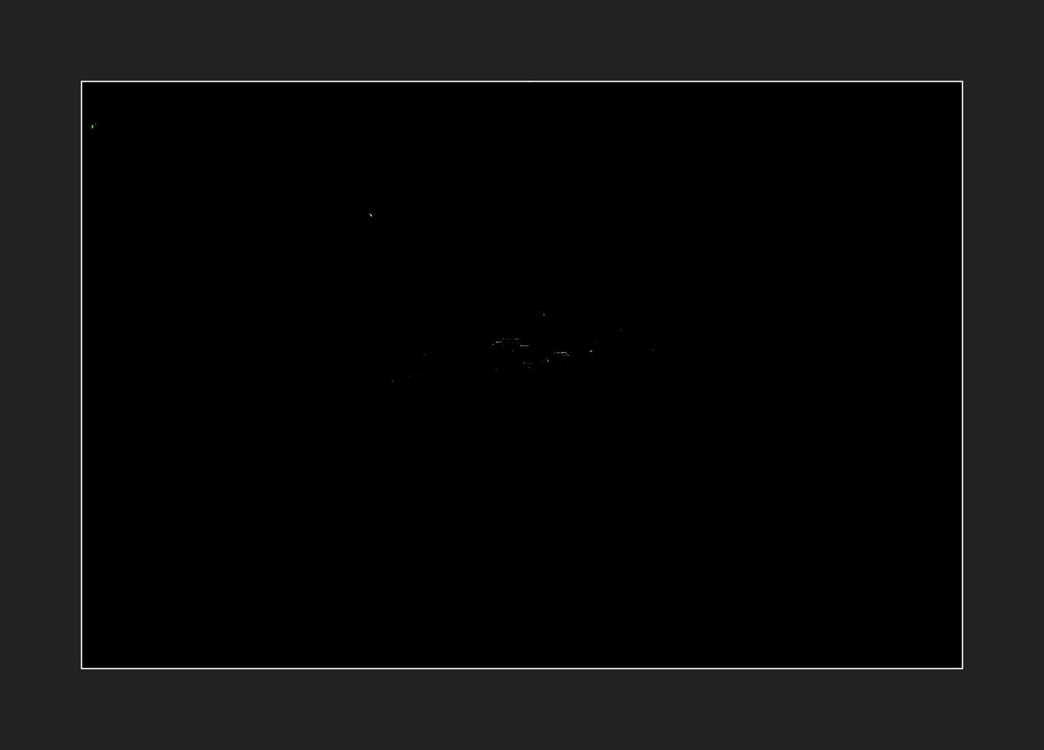 Ötztaler Alpen bei Nacht ......