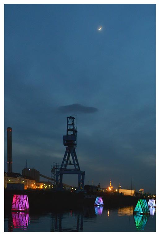 Offenbacher Hafen - Luminale 2014