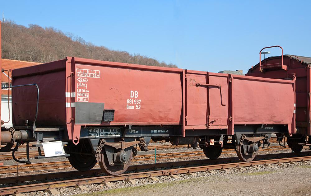 Offener Güterwagen 862806 Omm 52