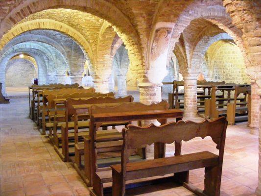 Offida - Santa Maria della Rocca interno