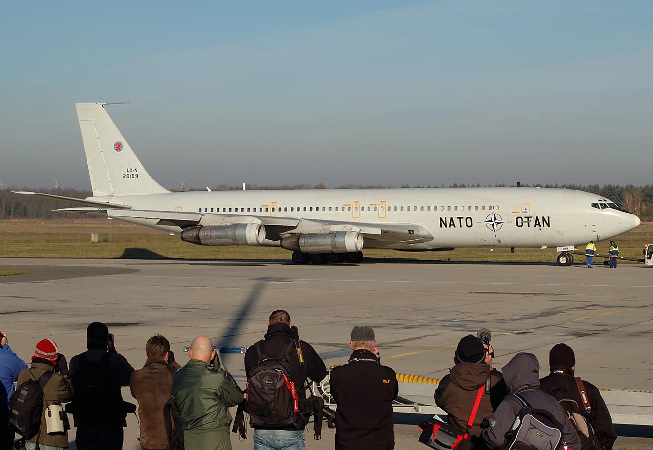 Offizielle Verabschiedung NATO TCA Boeing 707