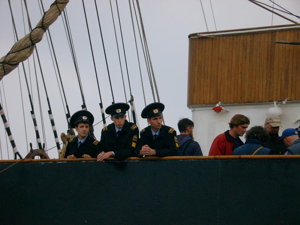 Offiziere der Sedov