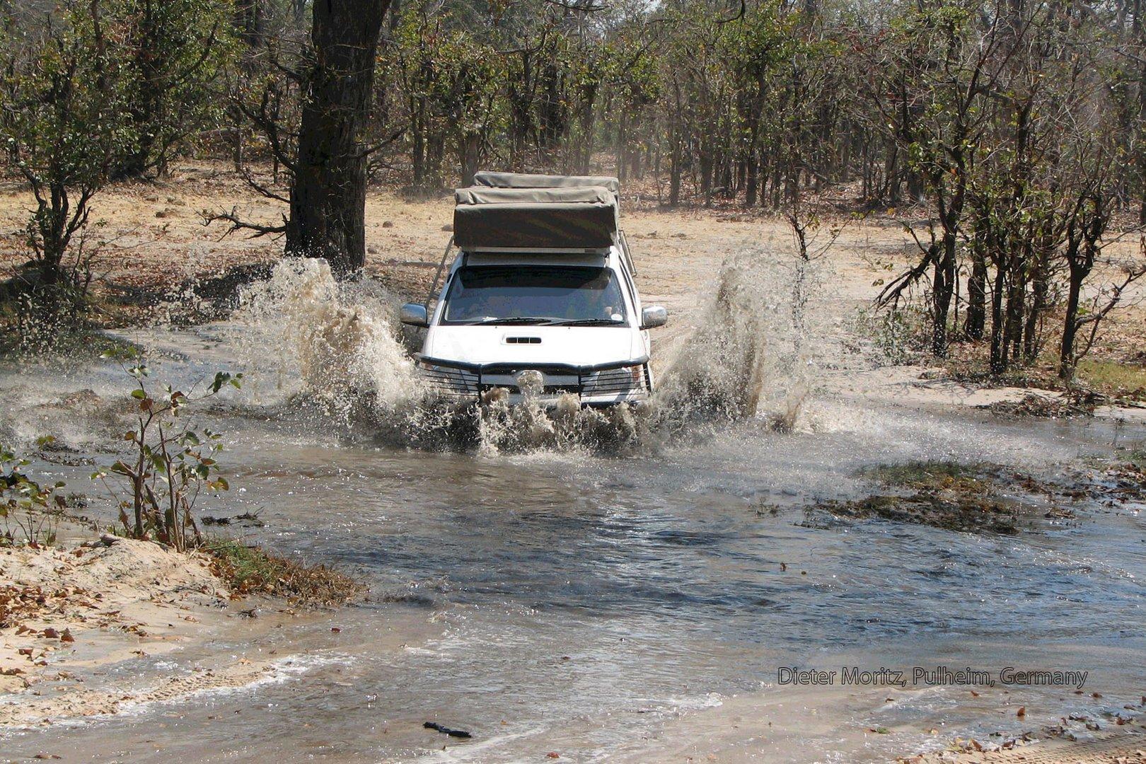 Offroaddrive am Okavango