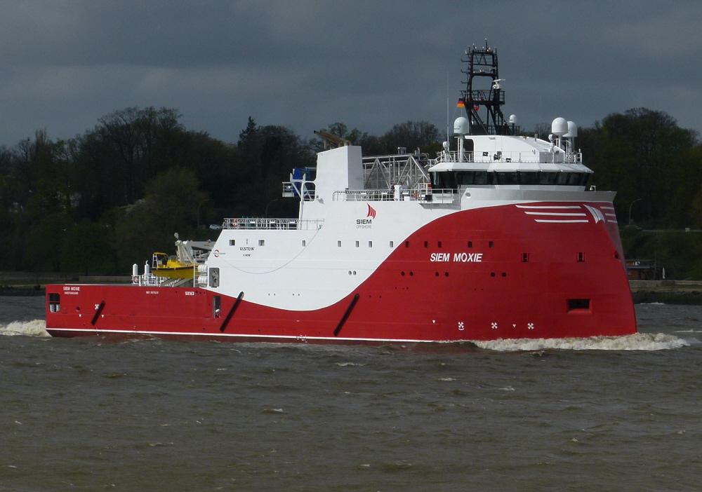 Offshore - Versorgungsschiff SIEM MOXIE