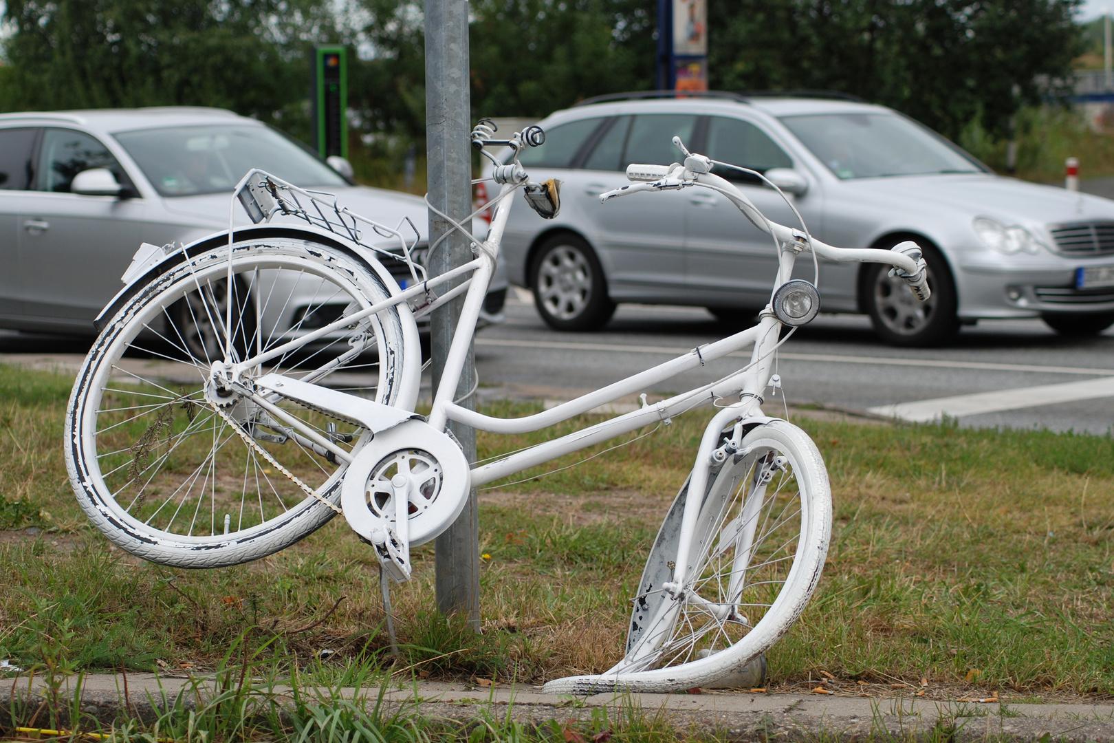Oh Ach(t) - das war ein Fahrrad