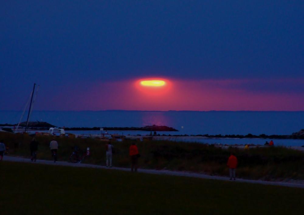 Oh , ich vermisse diese Ostseesonnenuntergänge jetzt schon.