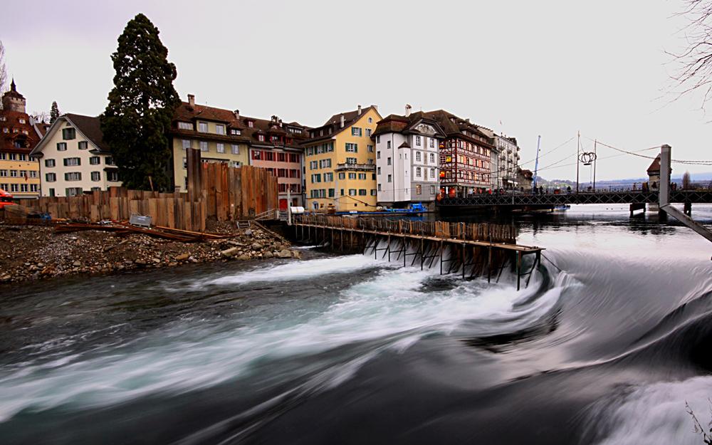 Oh weih der Vierwaldstädter See fließt aus