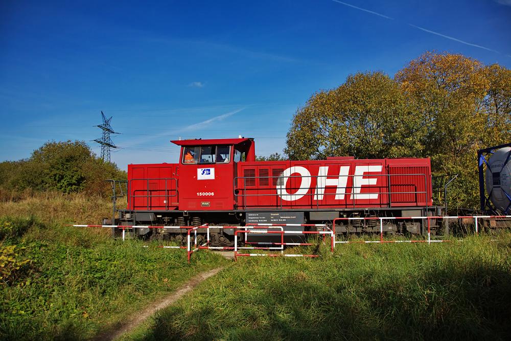 OHE 150006 auf Kieler Gleisen.