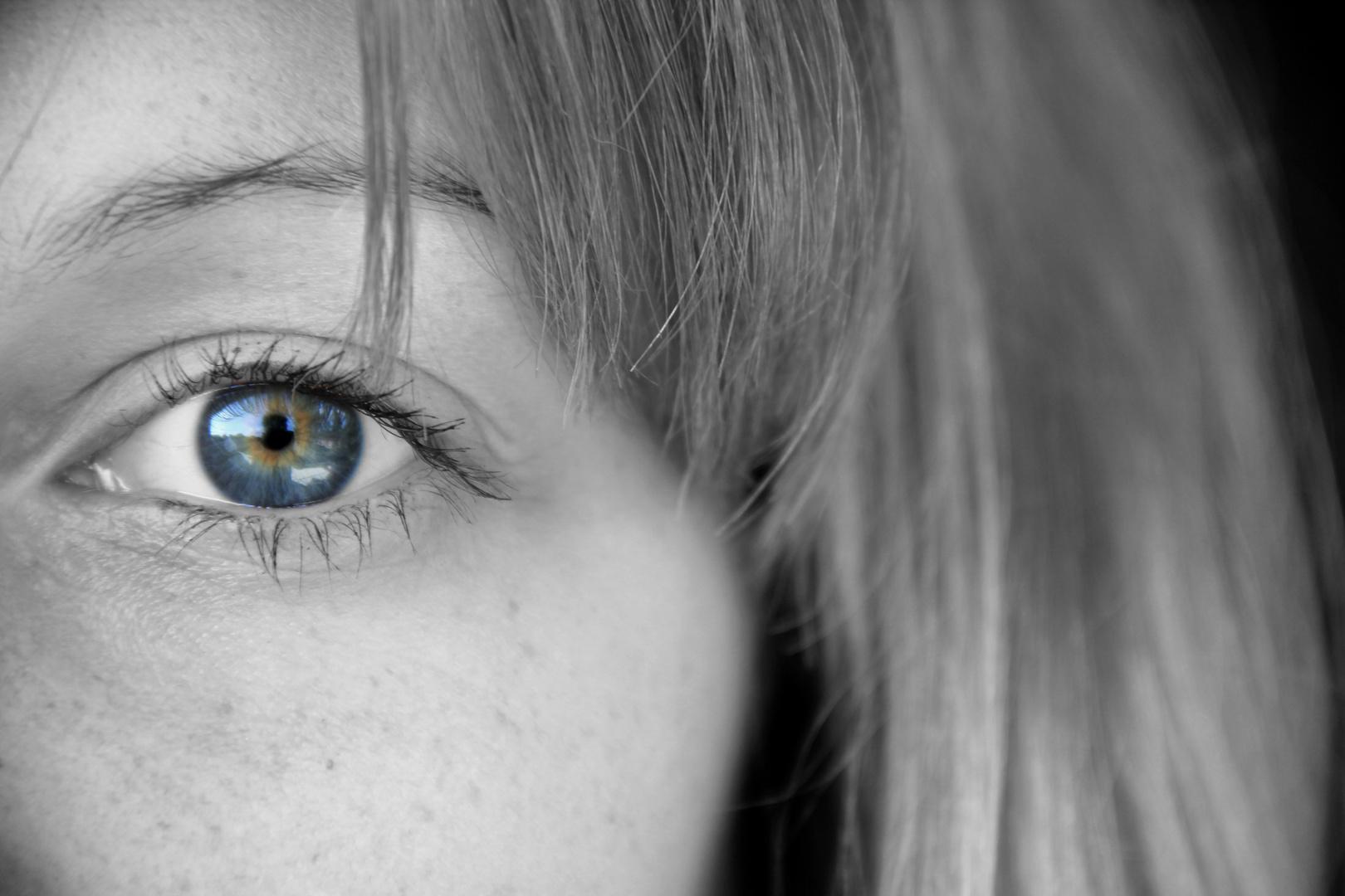 ohne Augen - kein Gesicht
