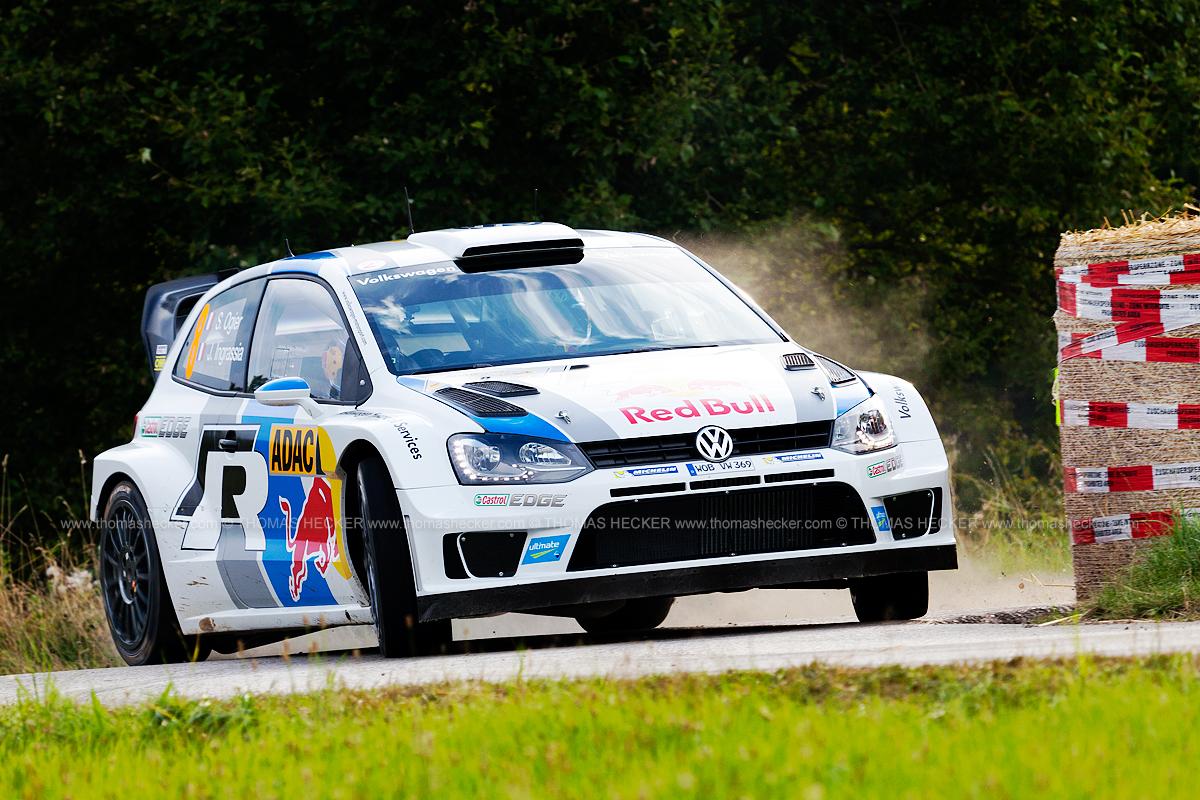 Ohne Fahrfehler sicher ganz vorn - Sebastien Ogier - Rallye Deutschland 2013