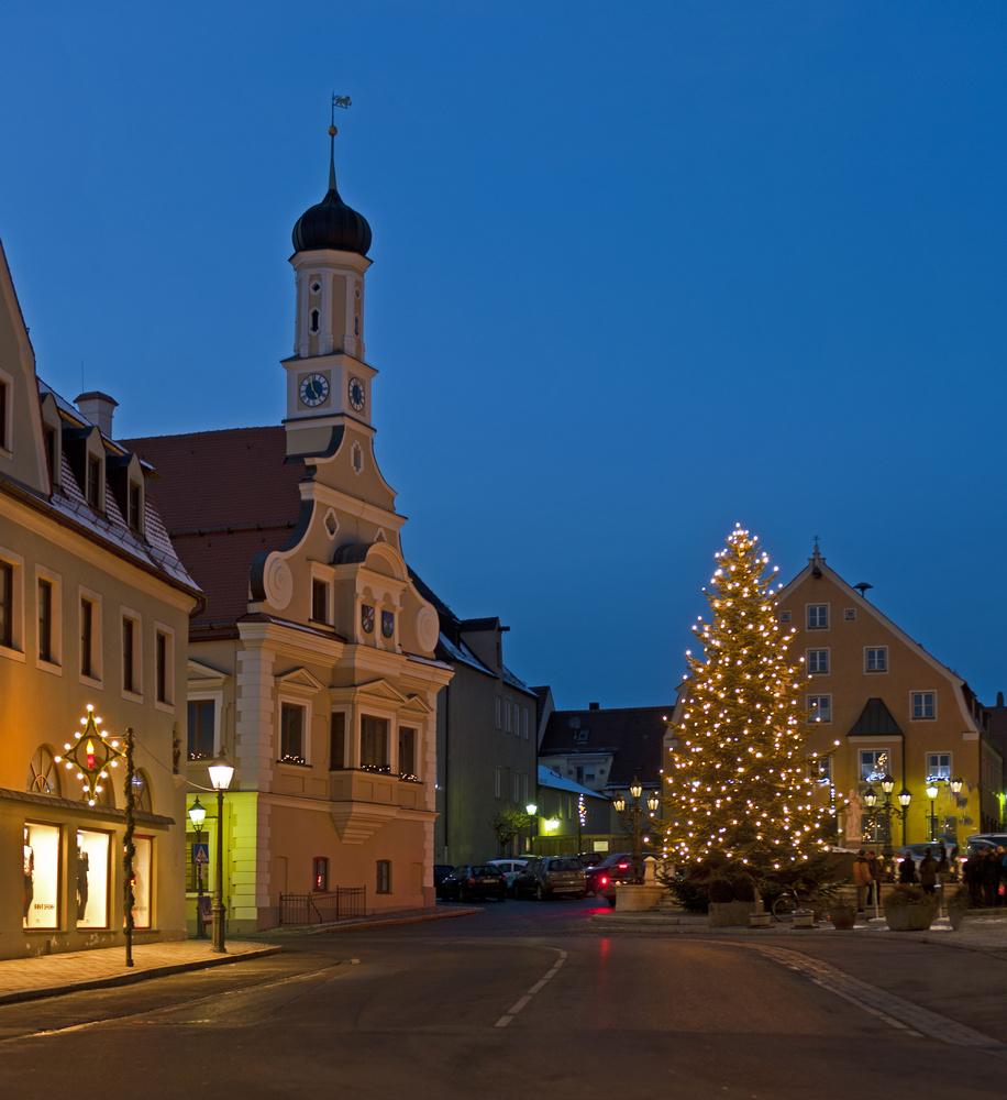 ohne Sternfilter - Weihnachten in Friedberg