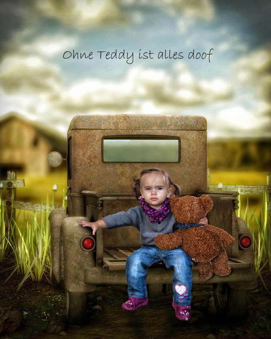 Ohne Teddy ist alles doof