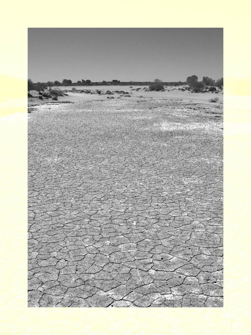 ohne Wasser
